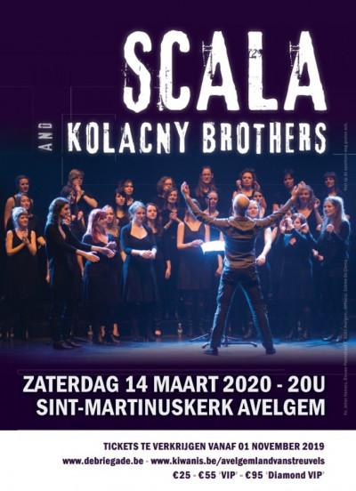 VERPLAATST concert Scala
